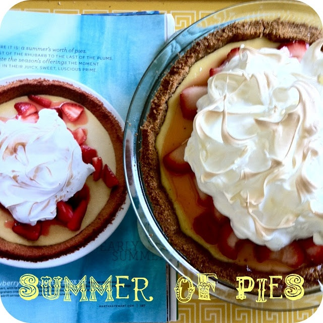 strawberry lemonade icebox pie | Pie Night | Pinterest