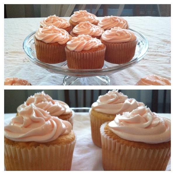 Zinfandel Wine Cupcakes Recipe — Dishmaps