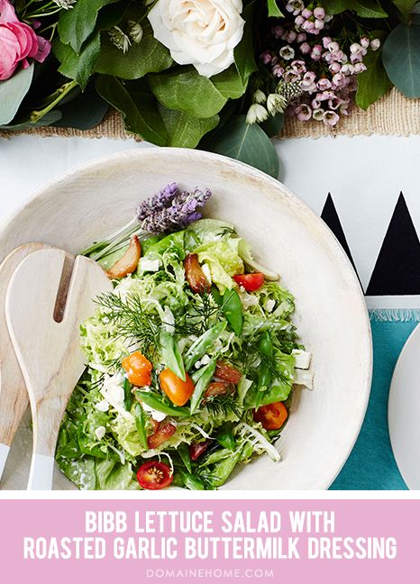 Bibb Salad With Buttermilk Pepper Dressing Recipes — Dishmaps