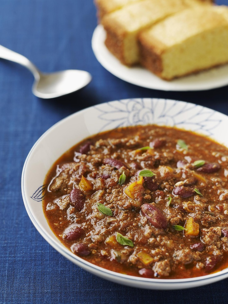 Slow Cooker All-American Chili #myplate #beef #slowcooker #beef