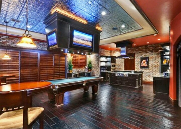 Dallas cowboys man cave my basement cowboys pinterest - Man caves chick sheds mutual needs ...