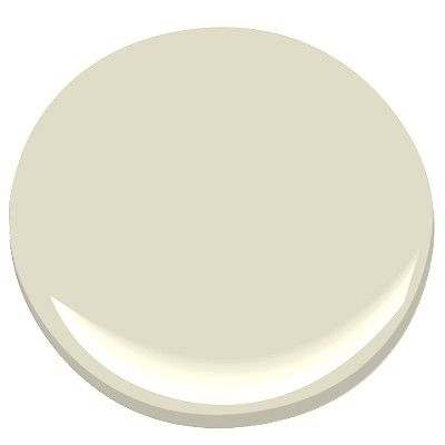 Benjamin Moore Overcast: softest of colors with a green cast, gives a tranquil feeling. Creamy, pale sage, great in darker rooms
