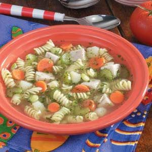 Chunky Turkey Vegetable Soup | Recipe