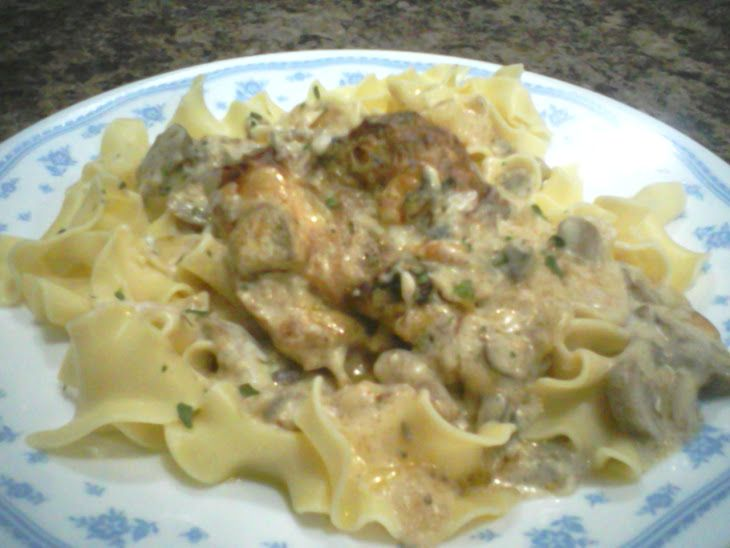 Creamy Chicken stroganoff | FOOD | Pinterest