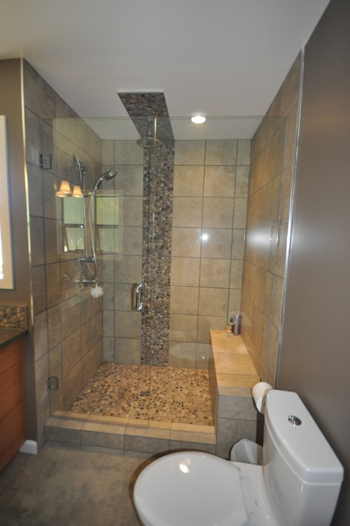 Bathroom tile to ceiling