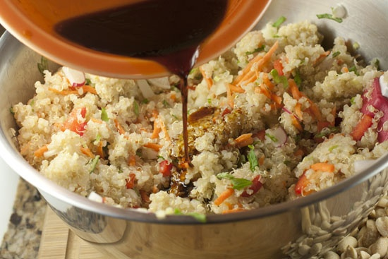 Asian Quinoa Salad--was looking for inspiration to possibly make some ...