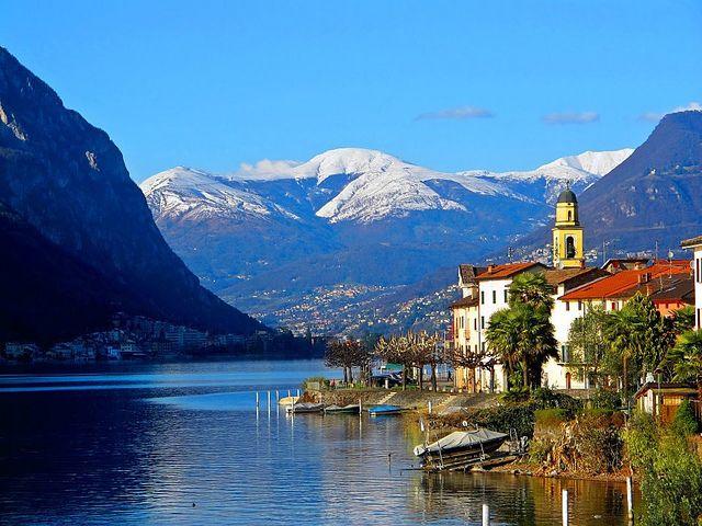 Brusino Arsizio Switzerland  city images : Brusino Arsizio, Switzerland   at the feet of rocks   Pinterest