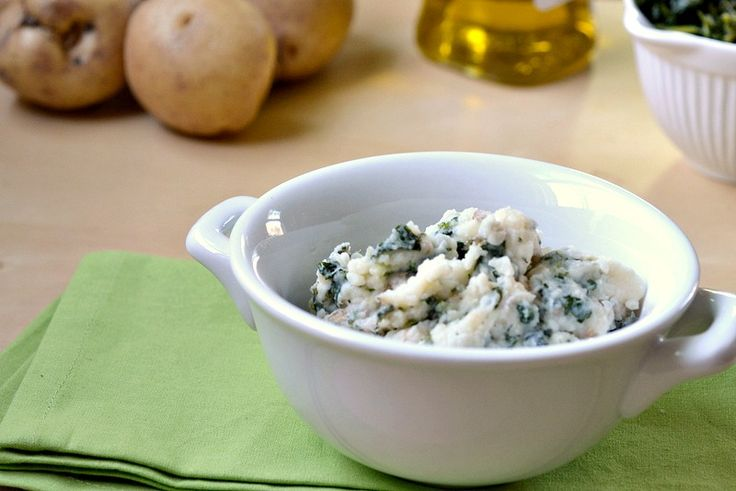Eat Skinny Kale & Garlic Mash Potatoes | Fave Recipes | Pinterest