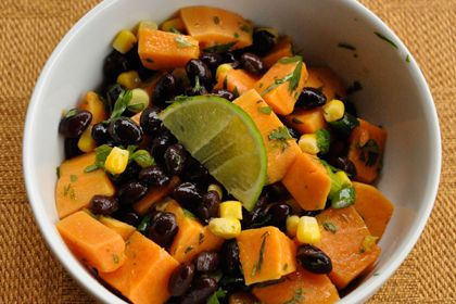 Salad Sweet Potato & Black Bean Salad will fill your plate with color ...
