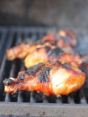 Korean-style marinated grilled chicken | What's for Dinner... | Pinte ...