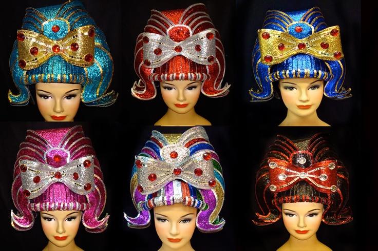 Glitter candy wigs avant garde wigs fashion wigs and wigs pinte