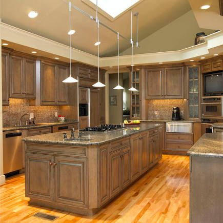 Weathered cabinets | Loose Goose Lodge Ideas | Pinterest