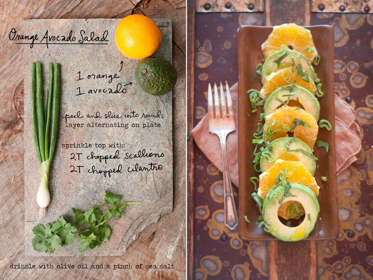 Orange and Avo Salad