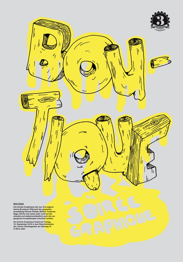 Boutique poster by mood/wood