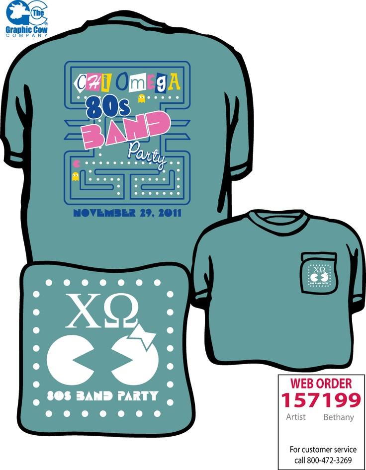 80s Band Party Design T Shirt Ideas Pinterest