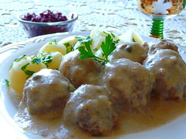 meatballs bavarian style meatballs recipes dishmaps bavarian style ...