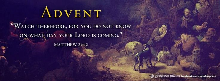Advent. A time to be prepared for The Lord is coming. ️ ️