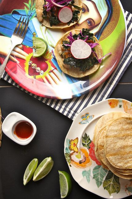 kale coconut and white bean tostadas | Tex Mex or just plain mexican ...