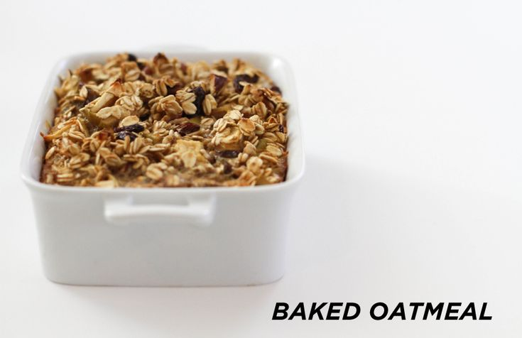 Baked Oatmeal - TheEverygirl | Recipes | Pinterest
