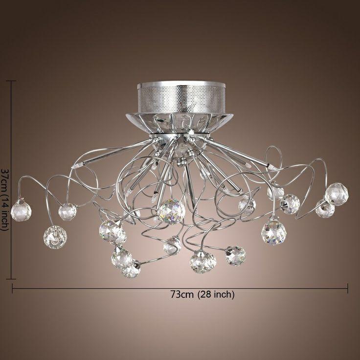 lightinthebox lampadari : LightInTheBox Modern Crystal chandelier with 11 Lights - YOUR HOME ...