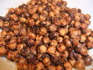 "Crispy & ""Nut-Free"" Garbanzo Bean Snack Recipe"
