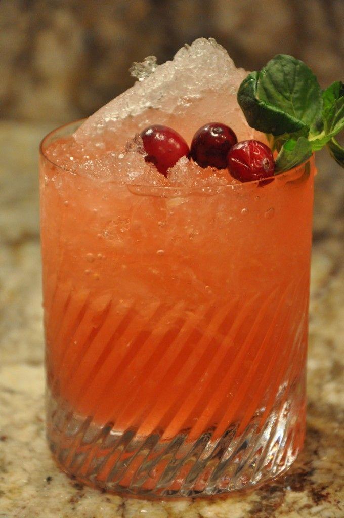 Christmas Cranberry Ginger Fizz! | Christmas | Pinterest