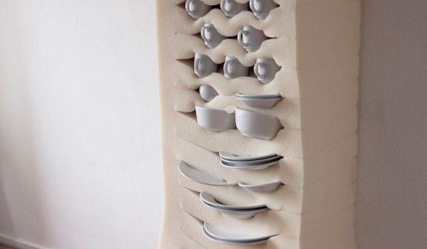 Keuken Opbergkasten : Zachte schuimrubberen opbergkasten van Studio Dewi van de Klomp via