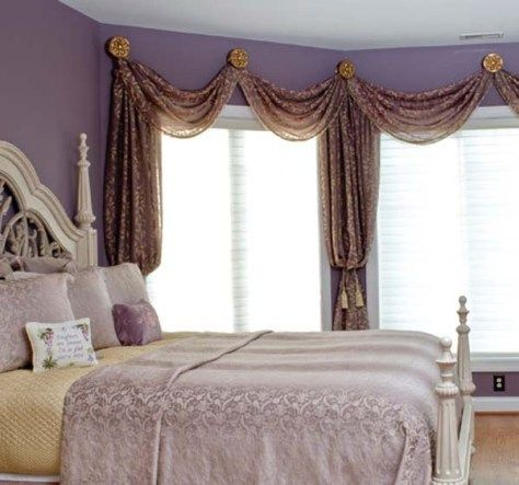 Master bedrooms design ideas decorating ideas pinterest Elegant window treatment ideas