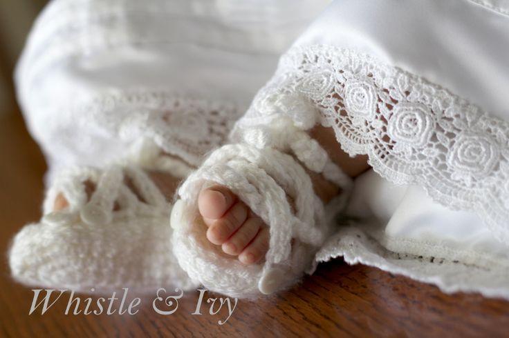 Baby Button Gladiator Sandal Crochet Pattern Gladiator ...