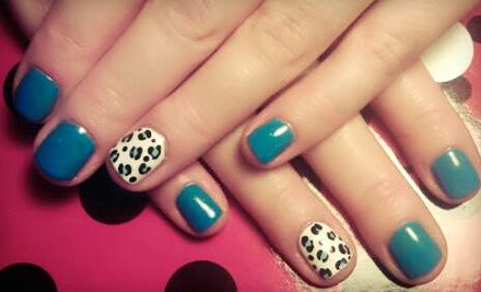Groupon - Spa Pedicure, Gel Manicure with Nail Art, or Both at Nails