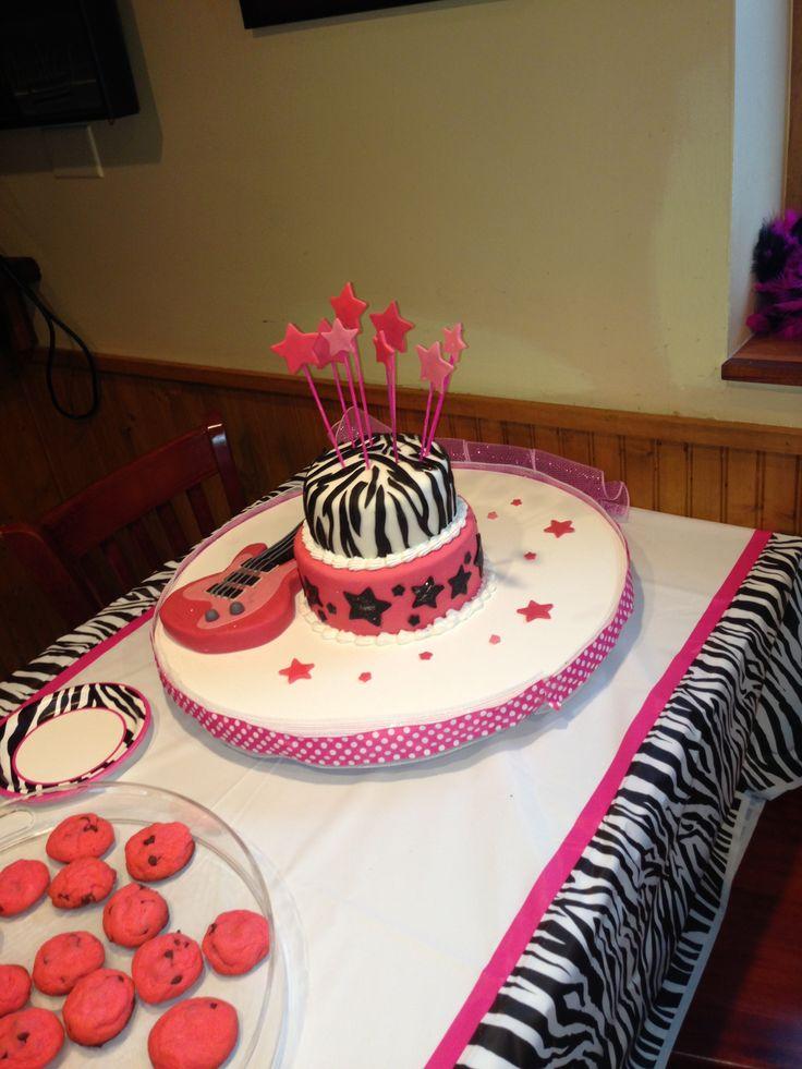 Rock Diva Cake Ideas 112184 Diva Rockstar Birthday Cake My