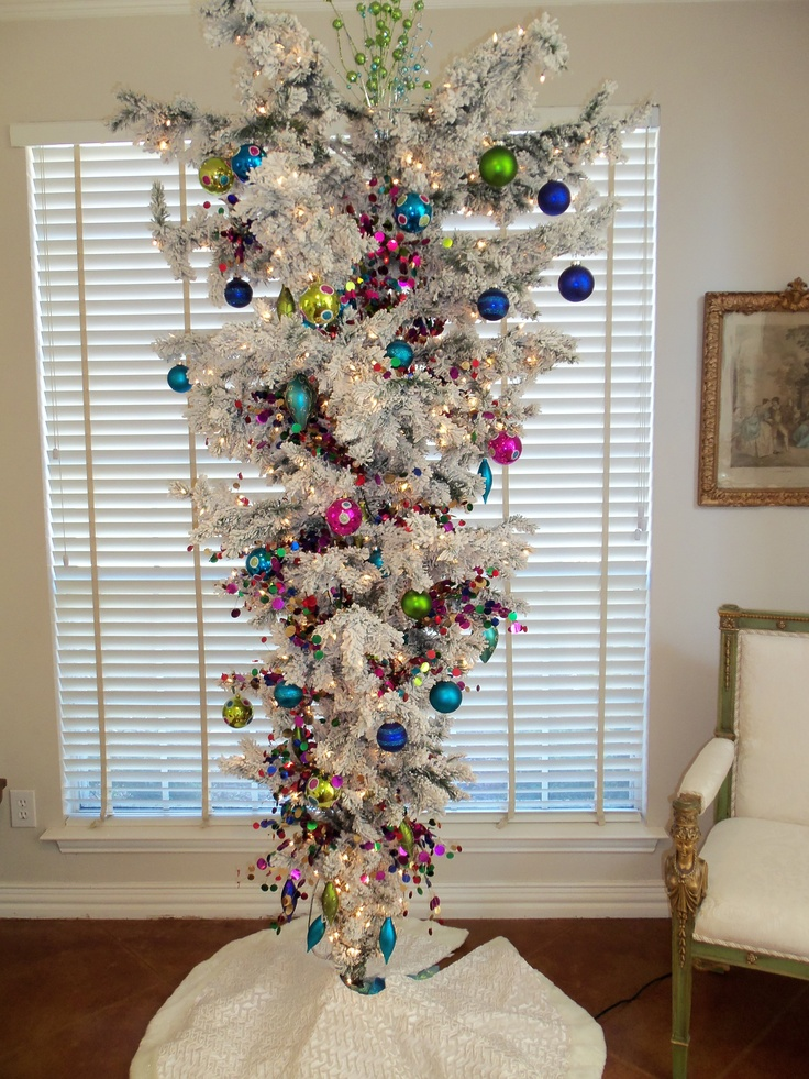 Upside Down Christmas Tree Christmas Crush Pinterest