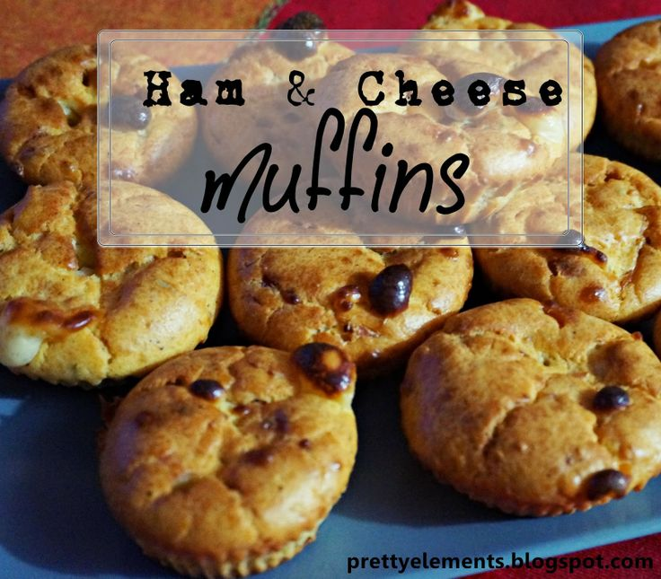 easy amp quick ham amp cheese muffins you won t stop baking them
