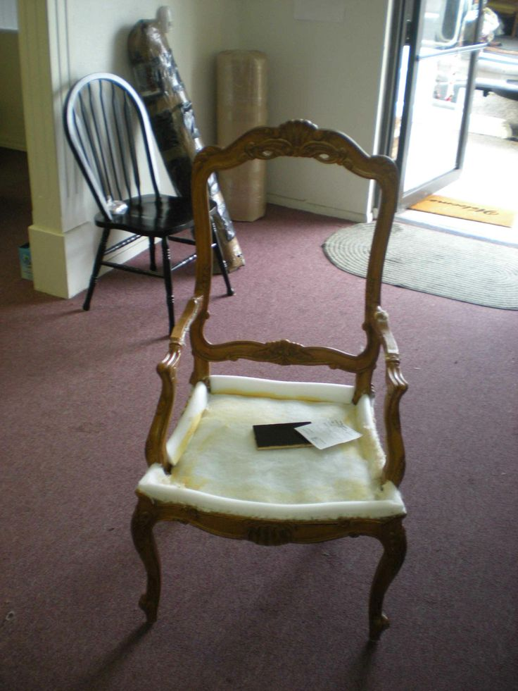 arm dining chair before open arm dining chair complete wood restoration and upholstery