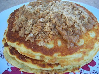 Cinnamon Streusel Pancakes | Cooking with Cristine | Pinterest