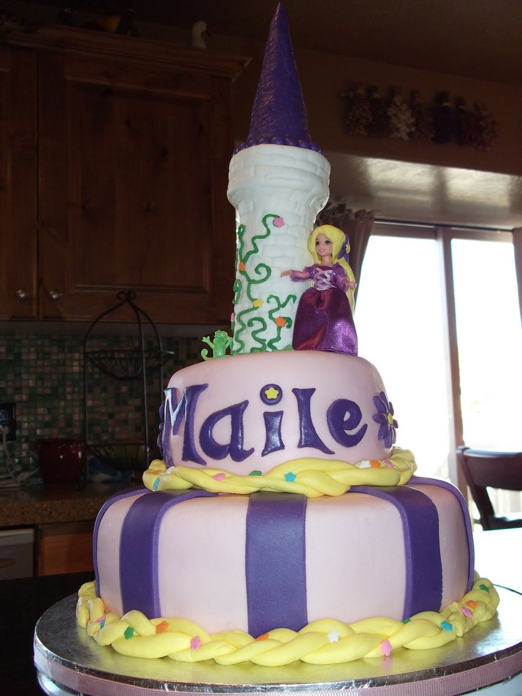 Rapunzel Tangled Cake Ideas 104240 Tangled Rapunzel Birthd