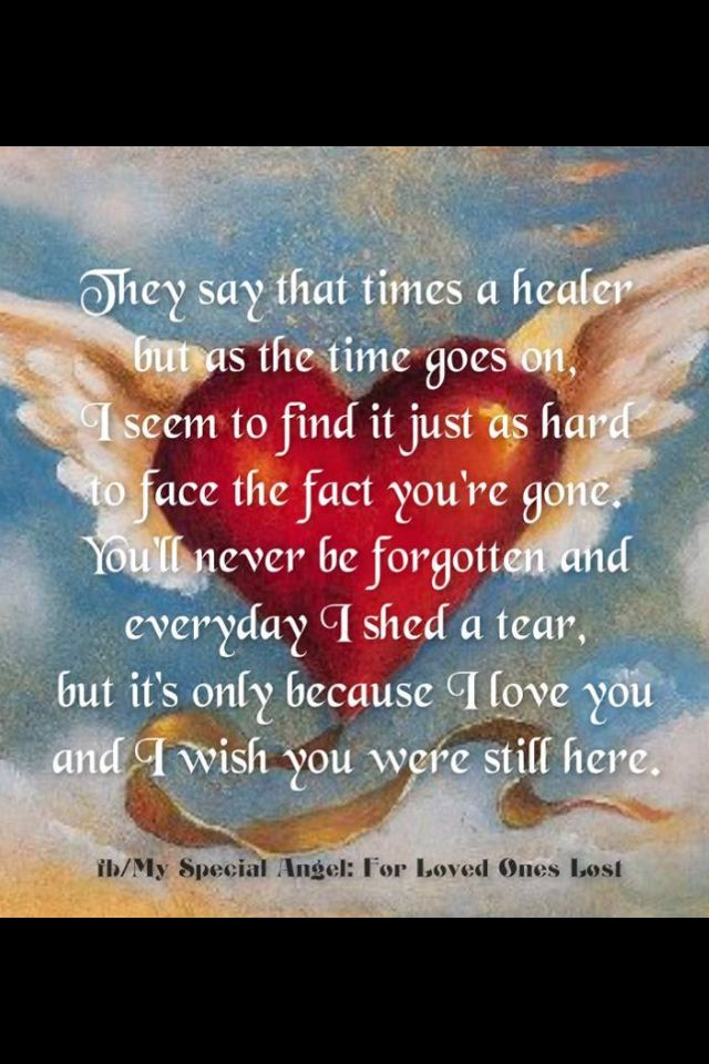 For loved ones lost Quotes and Sayings Pinterest