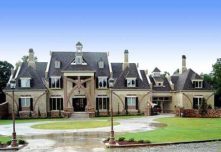 French Country Chateau