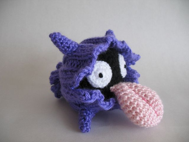 Crochet Pokemon : Amigurumi Shellder pokemon crochet Crochet Monsters Pinterest