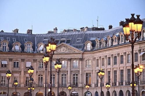 Last light in Paris