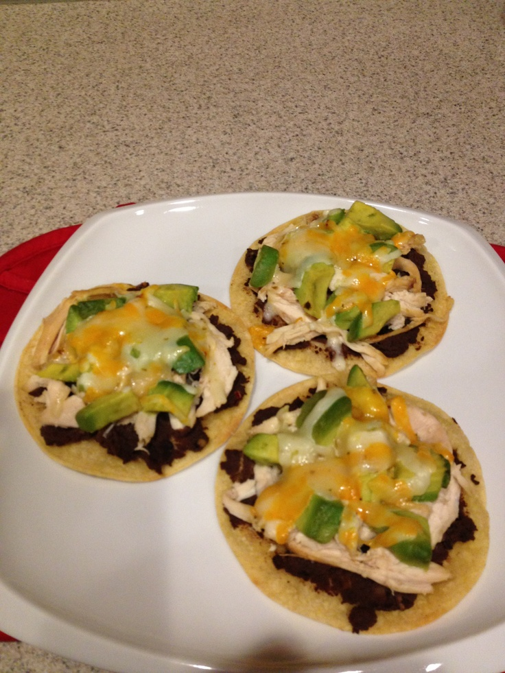 the chicken tostadas tasted fantastic. I made them exactly per the ...