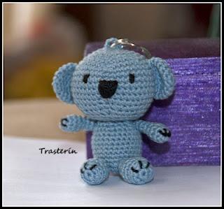 Llavero Koala Amigurumi : Pinterest Crochet Amigurumi Rachael Edwards