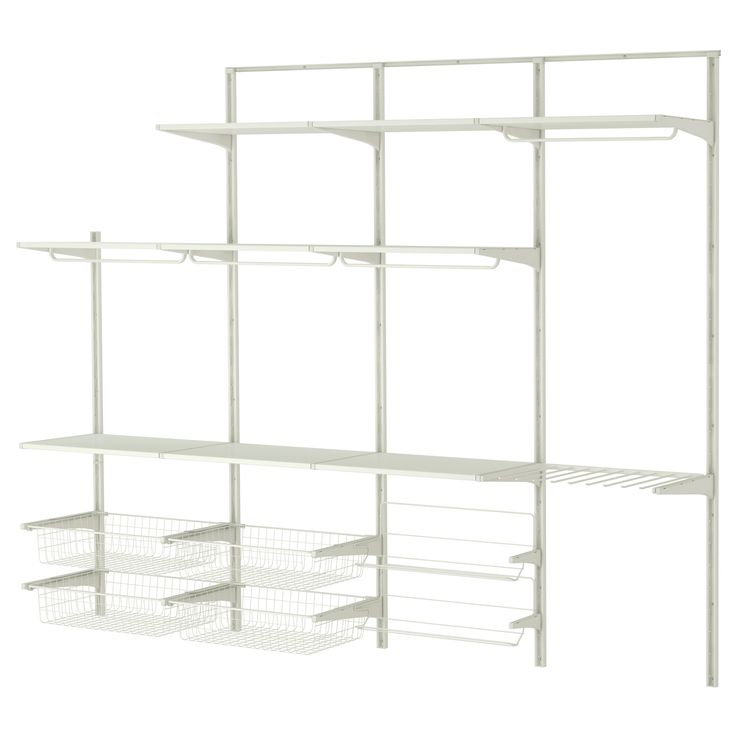 Wandtattoo Kinderzimmer Ikea ~ ALGOT Wall upright rod shoe organizer  IKEA