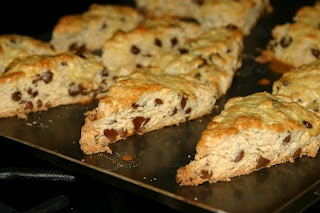 Mocha Chip Scones | recipes to try... | Pinterest