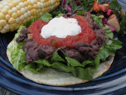 "Black Bean Tostadas | Recipes on my ""to-try"" pile! 