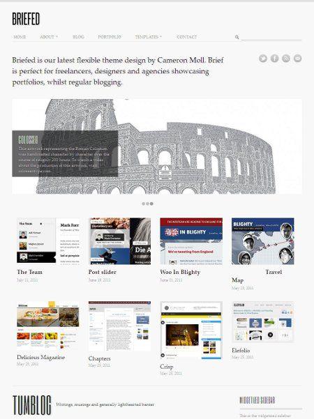 website design for writers