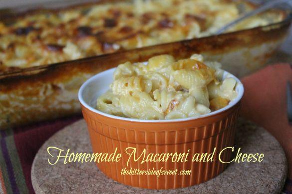 Homemade Macaroni and Cheese thebittersideofsweet.com 3