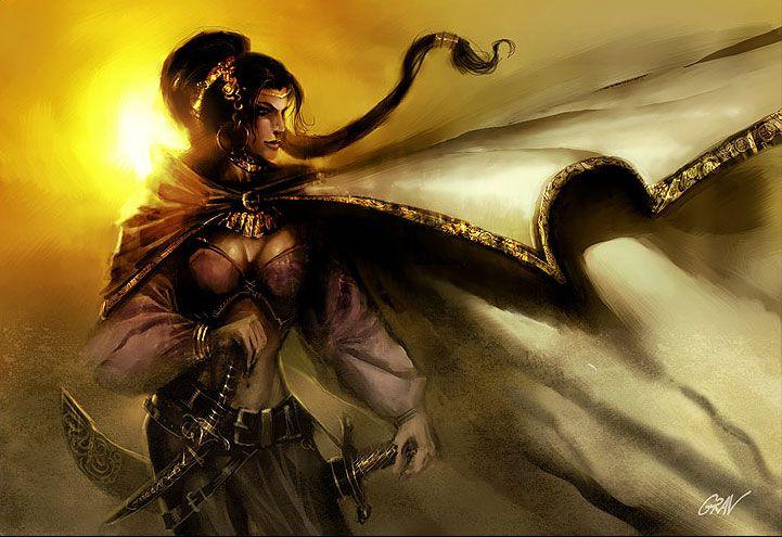 #Nymeria Sand #GameOfThrones #art