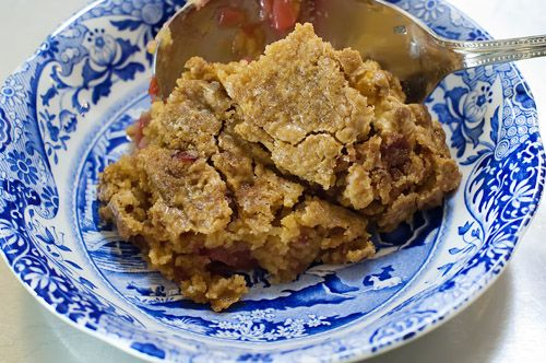 dump cake... I made this last night. So easy, so delicious!! Warning ...