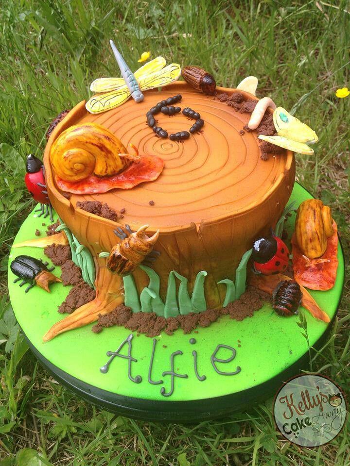 bug birthday cakes for boys